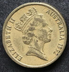 ORIGINAL 1992 AUSTRALIAN $2 TWO DOLLAR COIN   CIRC