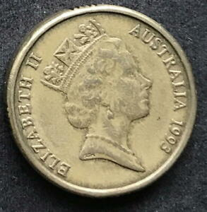 ORIGINAL 1993 AUSTRALIAN $2 TWO DOLLAR COIN   CIRC