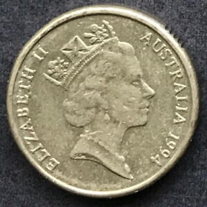 ORIGINAL 1994 AUSTRALIAN $2 TWO DOLLAR COIN   CIRC