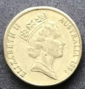 ORIGINAL 1996 AUSTRALIAN $2 TWO DOLLAR COIN   CIRC