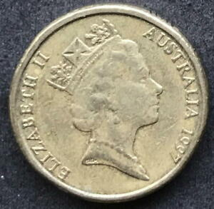 ORIGINAL 1997 AUSTRALIAN $2 TWO DOLLAR COIN   CIRC