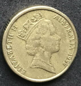 ORIGINAL 1998 AUSTRALIAN $2 TWO DOLLAR COIN   CIRC
