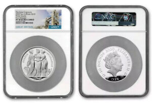 Click now to see the BUY IT NOW Price! 2020 ROYAL MINT THE THREE GRACES 5OZ SILVER NGC PF70 FIRST RELEASES   PRE SALE