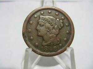 LY  1848 LARGE CENT EXTRA FINE  CONDITION NFM138