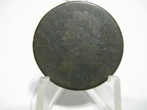 LY  1808 DRAPED BUST LARGE CENT GOOD CONDITION  NFM536