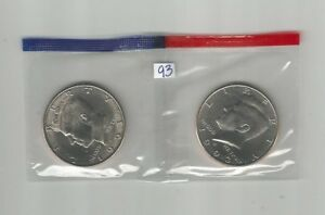 1993 P&D  KENNEDY HALF DOLLARS IN US MINT CELLO UNC