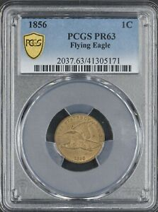 Click now to see the BUY IT NOW Price! 1856 FLYING EAGLE CENT 1C PCGS PR63