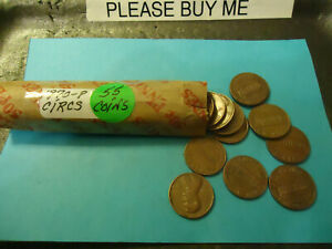 1970 P LINCOLN CENT ROLL      SHIPPING & TRACKING