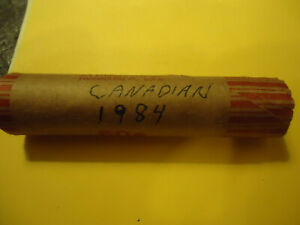1984 ROLL OF CANADIAN PENNIES       50 COINS       C/S AVAILABLE