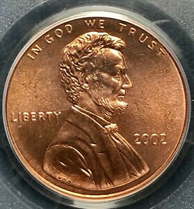 2002P PCGS MS68RD LINCOLN CENT