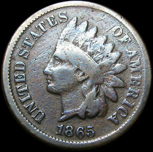 1865 INDIAN CENT PENNY         CUD  ?        J951