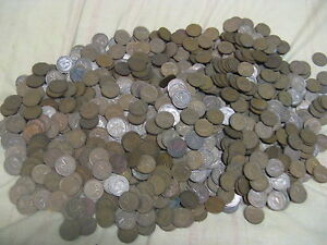 Click now to see the BUY IT NOW Price! HUGE LOT  OF  2000  CANADIAN PENNIES 1937 TO 52 MIXED KING GEORGE VI ERA.