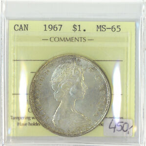 Click now to see the BUY IT NOW Price! CANADA 1967 $1 ONE DOLLAR ICCS CERTIFIED MS 65 QUEEN ELIZABETH II XTG 802