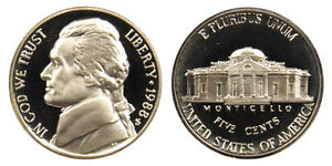 1988 S GEM BU PROOF JEFFERSON NICKEL 5 CENT BRILLIANT UNCIRCULATED US COIN PF