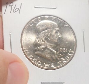 1961 FRANKLIN HALF     ..PRICED TO SELL   ..  LOT 146