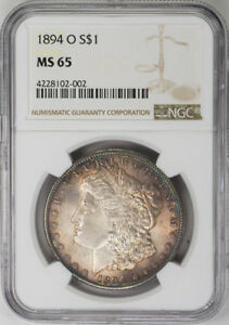 Click now to see the BUY IT NOW Price! 1894 O $1 MORGAN SILVER DOLLAR   NGC MS65   US  COIN