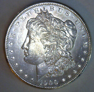 1900 MORGAN SILVER DOLLAR GRADED UNCIRCULATED MS UNITED STATES  $1 COIN R