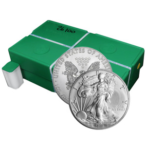Click now to see the BUY IT NOW Price! LOT OF 500   2016  S  $1 AMERICAN SILVER EAGLE 1 OZ SEALED MONSTER BOX