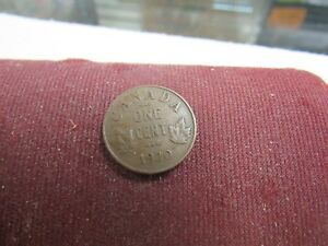 1920 CANADA ONE CENT  HIGHER GRADE NICE COIN 22