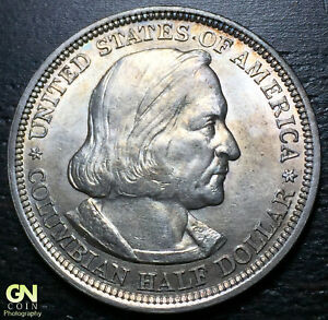1893 COLUMBIAN EXPO COMMEMORATIVE HALF DOLLAR     MAKE US AN OFFER   R3948