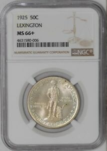 Click now to see the BUY IT NOW Price! 1925 LEXINGTON 50C 938842 60 MS66  NGC
