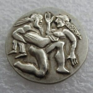 GREEK SILVER COIN THRACE AR STATER