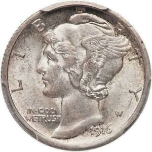 Click now to see the BUY IT NOW Price! 1916 D MERCURY DIME PCGS AU58FB CAC