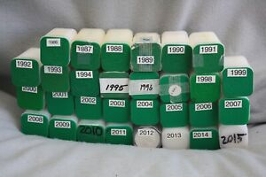 Click now to see the BUY IT NOW Price! ASE 1986 2015   30 UNCIRCULATED TUBES FROM U.S. MINT W/ 20 ASE EACH   600 ASE
