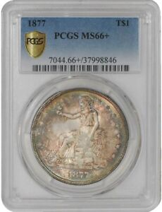 Click now to see the BUY IT NOW Price! 1877 TRADE DOLLAR $ 941228 20 MS66  SECURE PLUS PCGS