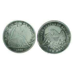 1862 STATUE OF LIBERTY COMMEMORATIVE COIN WISHING COINS LUCKY METAL BADGE MEDAL