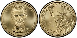2010 D PRESIDENTIAL DOLLAR  ABRAHAM LINCOLN UNCIRCULATED