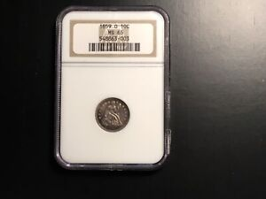 Click now to see the BUY IT NOW Price! 1859 0 SEATED DIME MS 65 NGC OLD HOLDER BEAUTIFUL TONING