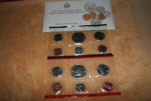 U S MINT UNCIRCULATED COIN SET 1989