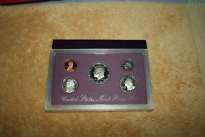 U S MINT PROOF SET 1989