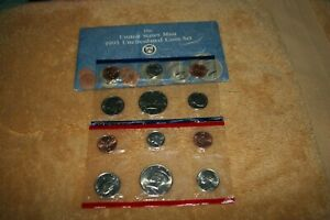 U S MINT COIN SET 1991