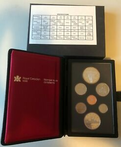 1982 CANADA MINT 7 COIN PROOF SET