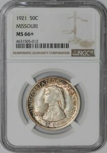 Click now to see the BUY IT NOW Price! 1921 MISSOURI 50C 938855 66 MS66  NGC