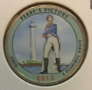 2013 P COLORIZED PERRY'S VICTORY  OHIO  ATB QUARTER