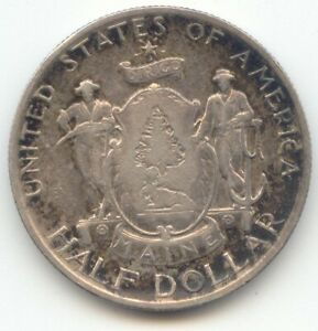1920 MAINE CENTENNIAL COMMEMORATIVE HALF DOLLAR NICE XF