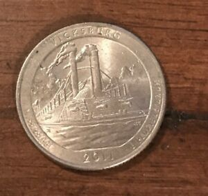2011 D VICKSBURG NP AMERICA THE BEAUTIFUL QUARTER  BUY 6 GET 40  OFF  0814