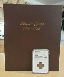 Click now to see the BUY IT NOW Price! LINCOLN CENTS 1909 1958 W/ GRADED 1922 PENNY 141 TOTAL COINS BOOK COMPLETE