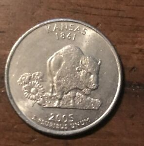 2005 P 25C KANSAS 50 STATES QUARTER BUY 6 GET 40  OFF   0818