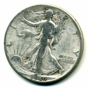1940 P WALKING LIBERTY HALF DOLLAR KEY DATE SILVER 50 CENT FACE COIN U.S 103160