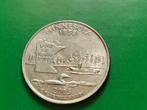 2005 D MINNESOTA STATE QUARTER  BUY 6 GET 40  OFF  0821