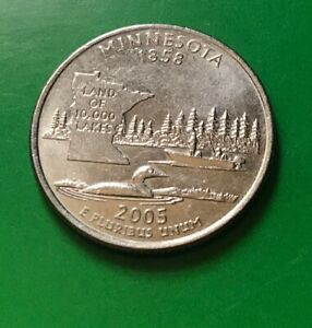 2005 D MINNESOTA STATE QUARTER  BUY 6 GET 40  OFF  08212