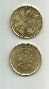 2019 CANADIAN DOLLAR LOONIE EQUALITY 1965 2019 CIRCULATED EXCELLENT COND.