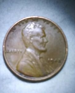 COINS  1942 WHEAT PENNY  GOV'T ERROR
