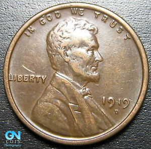 1919 D LINCOLN CENT WHEAT PENNY      MAKE US AN OFFER   P0813