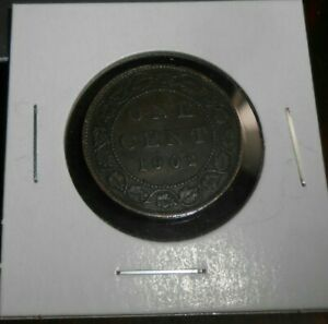 CANADA/CANADIAN 1902 LARGE CENT  NICER COIN