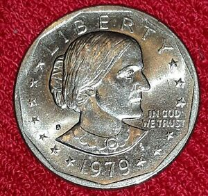1979 S SUSAN B. ANTHONY DOLLAR COIN MINT ERROR